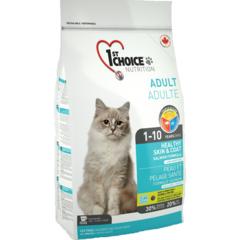 1st Choice Adult Healthy Skin & Coat для длинношерстных кошек, здоровая кожа и шерсть