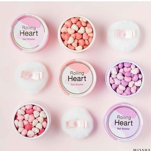 MISSHA Rolling Heart Ball Blusher