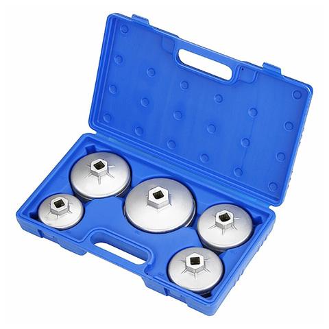 МАСТАК (103-40005C) Набор съемников масляных фильтров, 5 предметов