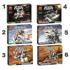 Minifigures Star Wars Blocks Building Series 10