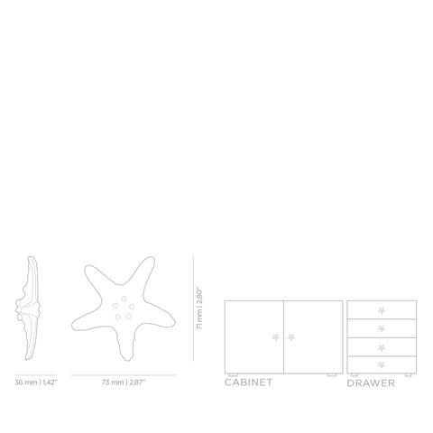 Мебельная ручка PullCast LINCKIA OC2011