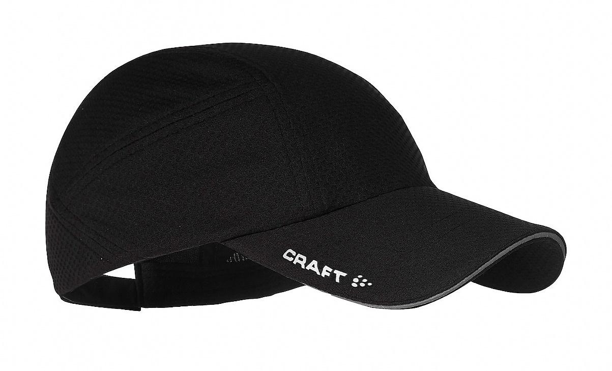 Беговая кепка Craft Running Cap (1900095-1999) черная