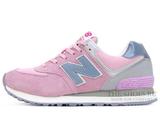 Кроссовки Женские New Balance 574 Light Pink ASF