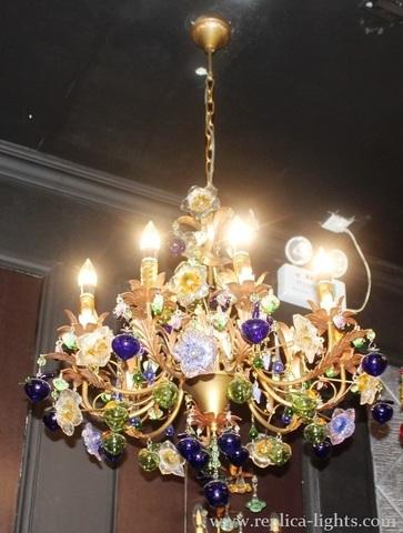 murano chandelier  ARTE DI MURANO 11-57 by Arlecchino Arts ( HK)