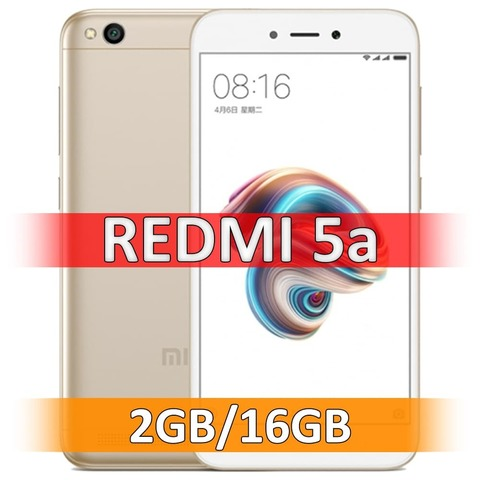 Xiaomi Redmi 5A (2-16Gb) Gold