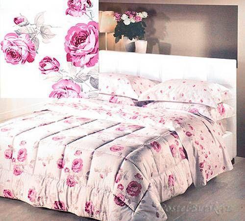 Постельное белье 2 спальное евро макси Caleffi Fragrance коралловое