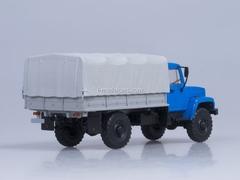 GAZ-3308 board with awning 4x4 engine ZMZ-513 blue AutoHistory 1:43