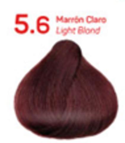 5.6 светлый коричневый. Краситель для волос с эффектом лифтинга KV-1