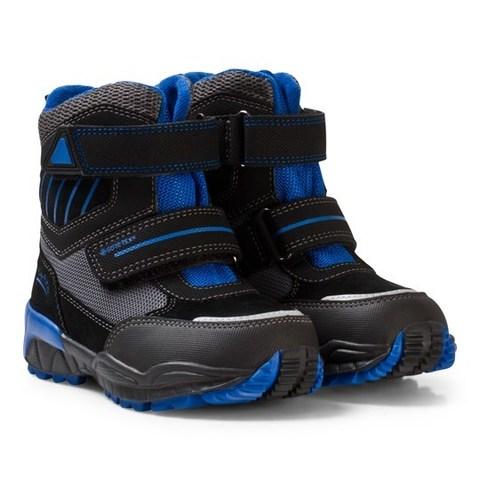 SuperFit зимние сапоги Culusuk для мальчика синие