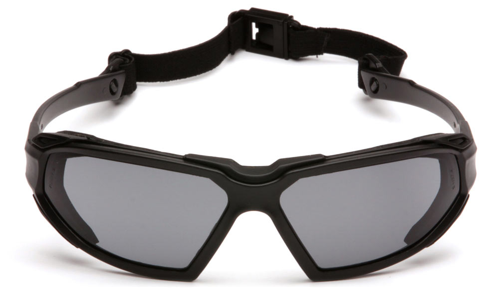Очки баллистические тактические Pyramex Highlander SBB5020DT Anti-fog серые 23%