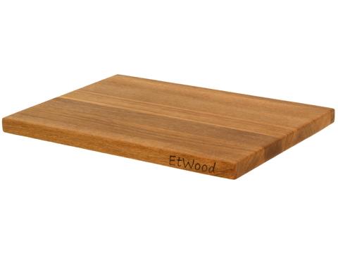 деревянная Разделочная доска дуб 40x30x2 см. арт. 711