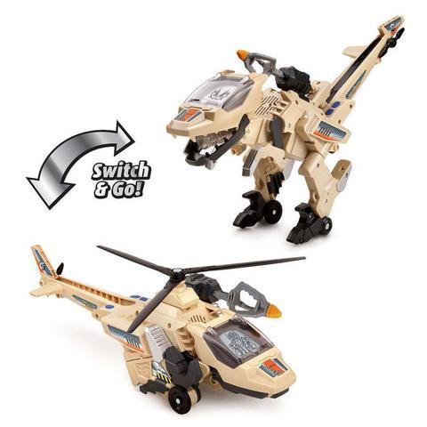 Динозавр-трансформер Блистер Велоцираптор (Blister The Velociraptor) со Звуковыми Эффектами, VTech