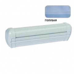 Маркиза настенная с мех.приводом DOMETIC Premium DA2035, цв.корп.-белый, ткани-голубой, Ш=3,55м