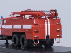 ZIL-133GYa AC-40 fire engine red with white stripes Start Scale Models (SSM) 1:43