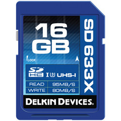 Delkin Devices Best SDHC 16GB Elite 633X UHS-I Class 3