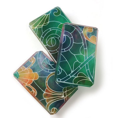 Текстурный лист Витраж. Пример работы