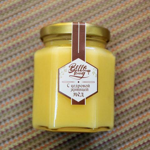 Медовик мёд с кедровой живицей 200 мл