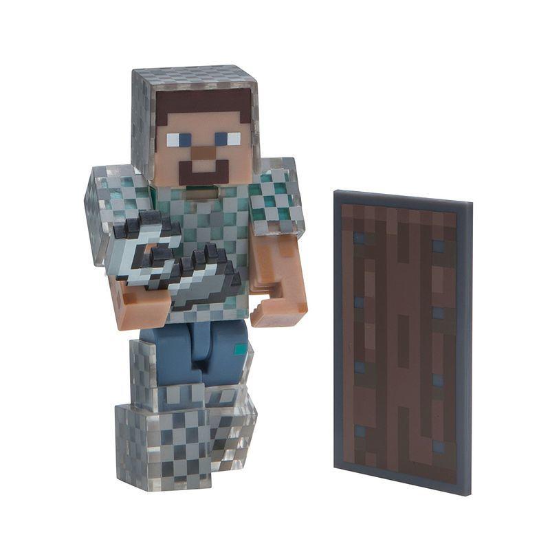 Фигурка Minecraft Steve in Chain Armor 8см