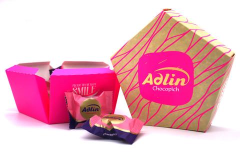 Пишмание со вкусом розы в шоколадной глазури, Adlin, 150 г