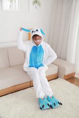 Кигуруми Заяц бело-голубой