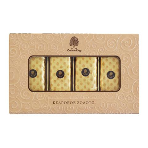 Конфеты Батончики Золотая коллекция Сибирский кедр 170 гр