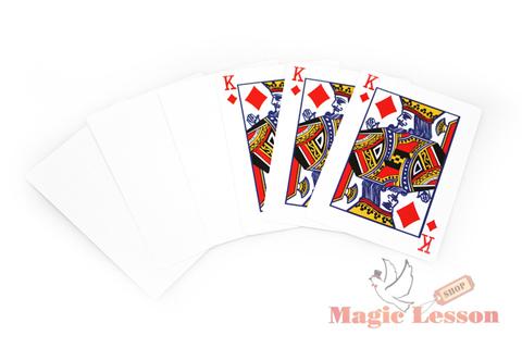 Короли превращаются в белые карты