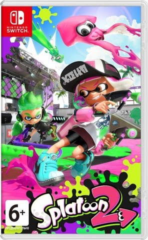 NS: Splatoon 2 (русская версия)