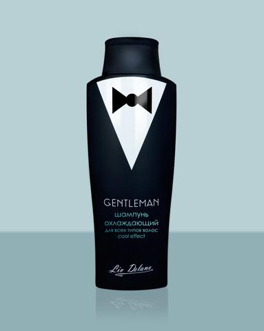 Liv delano Gentleman Шампунь охлаждающий для всех типов волос Cool effect 300г