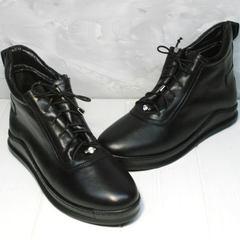 Сникерсы женские Evromoda 375-1019 SA Black