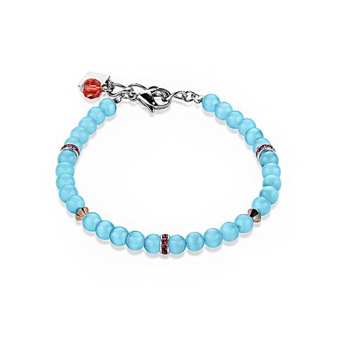 Браслет Coeur de Lion 4806/30-2000 цвет голубой