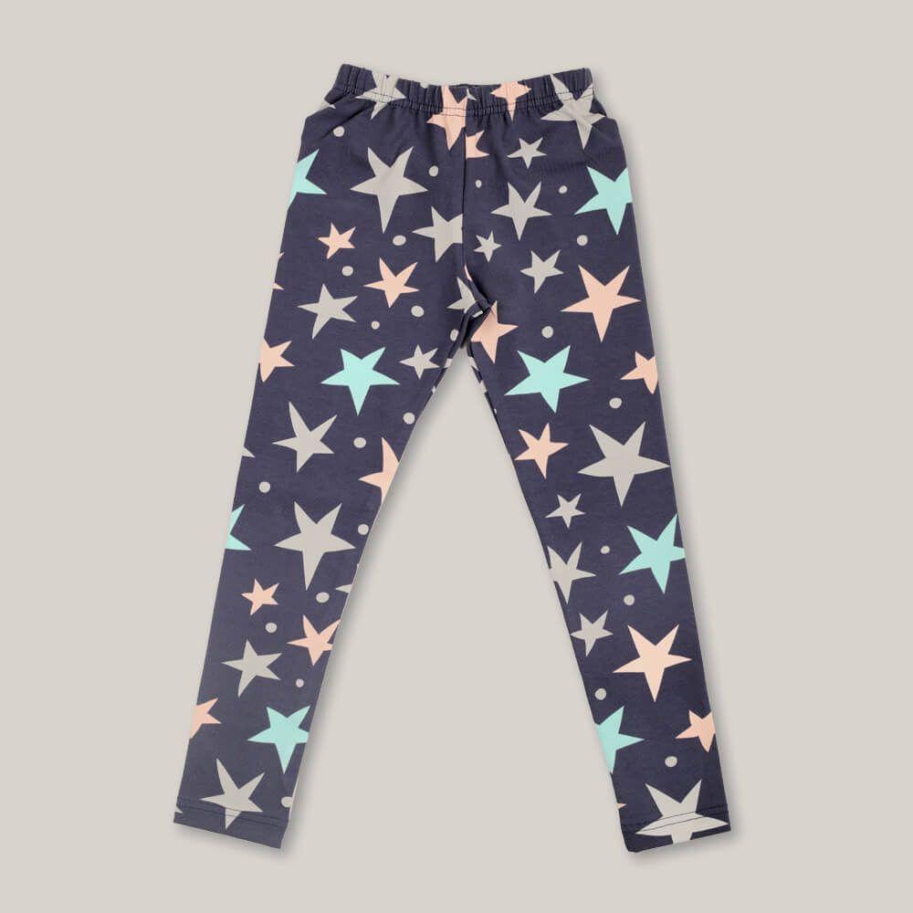 Детские женские брюки пижамные E20K-24D103
