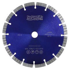 Алмазный диск Turbo по железобетону 230х22,23 мм Messer FB/Z