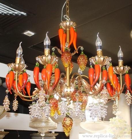 murano chandelier  ARTE DI MURANO 11-58 by Arlecchino Arts ( HK)