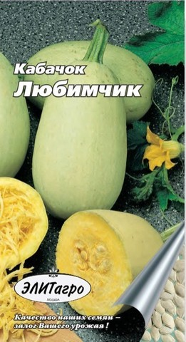 Семена Кабачок-спагетти Любимчик