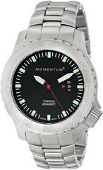 Канадские часы Momentum TORPEDO BLACK минерал 1M-DV74B0