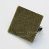Основа для броши с квадратной площадкой 15х15 мм (цвет - античная бронза)