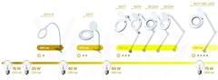 Лампа-лупа 6025F LED на 3 (5) диоптрий
