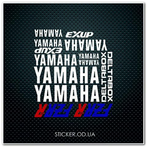 Набор наклеек Yamaha FZR-R