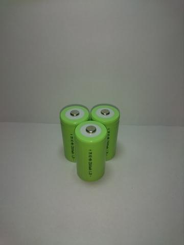 Аккумулятор C (R14, LR14,343) Ni-Mh 5000mAh 1,2V 6Wh