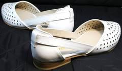 Модные летние босоножки с закрытым носком и пяткой El Passo sy9002-2 Sport Black-White.