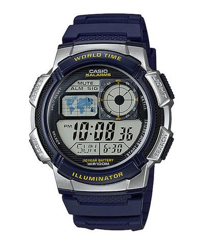 Купить Японские наручные часы Casio AE-1000W-2A по доступной цене