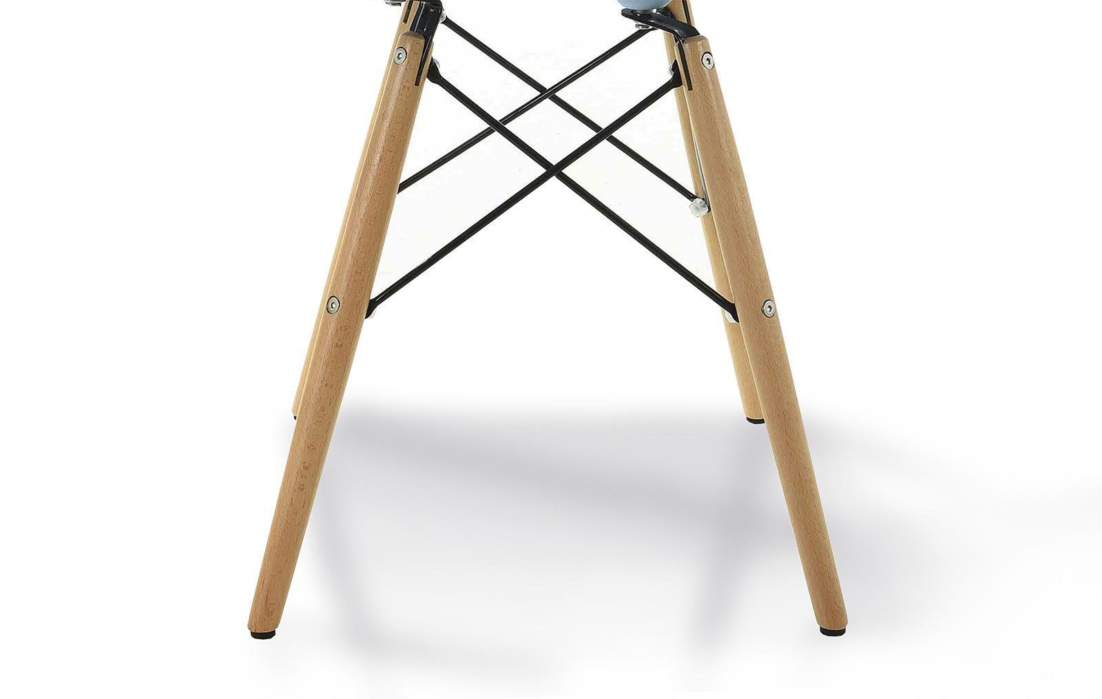 ножки от стула DUPEN DC231A голубой/белый