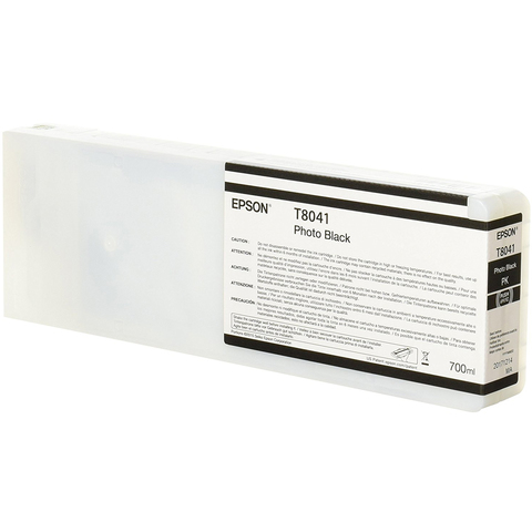 Картридж T804100 для Epson SC-P6000/7000/8000/9000 XXL Photo Black UltraChrome HDX/HD, 700ml (C13T804100)