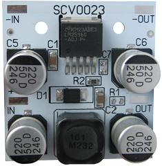 EK-SCV0023-ADJ-3A - Регулируемый импульсный стабилизатор напряжения 1.2-37 V, 3 А