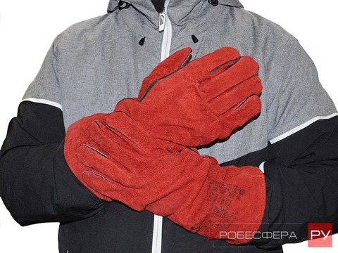 Перчатки пескоструйщика спилковые Vector