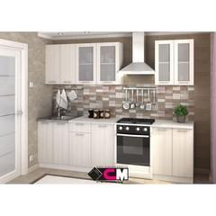 Кухонный гарнитур Дина 2 м цвет: бел дуб