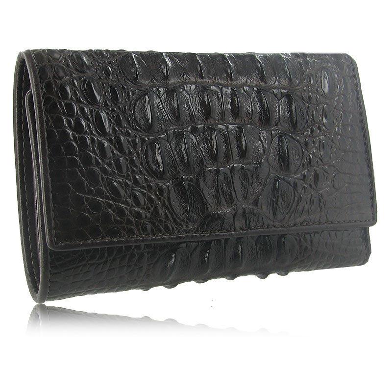 Мужской маленький кошелек из кожи крокодила WR-123
