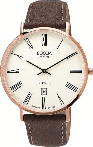 Купить Мужские наручные часы Boccia Titanium 3589-06 по доступной цене