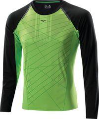 Рубашка беговая Mizuno Drylite Premium L/S Tee мужская