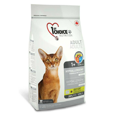 1st Choice Hypoallergenic для взрослых кошек беззерновая гипоаллергенная формула, с уткой